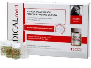 Ideepharm Radical Med Anti Hair Loss ošetrujúce sérum proti padaniu vlasov pre ženy