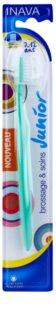 Inava Junior zubná kefka pre deti s cestovným krytom