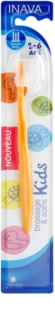 Inava Kids Toothbrush for Kids with Travel Cover