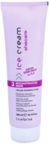 Inebrya Ice Cream Shecare Intensive Treatment Mask For Dry, Damaged, Chemically Treated Hair