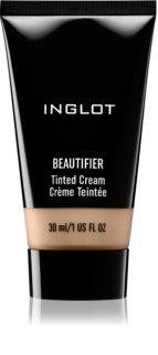 Inglot Beautifier crema hidratante ligera con color