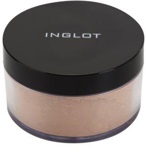 Inglot Basic mattosító könnyed púder a make-up tökéletes fixálásáért