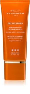 Institut Esthederm Bronz Repair učvršćujuća krema protiv bora na licu s visokom UV zaštitom