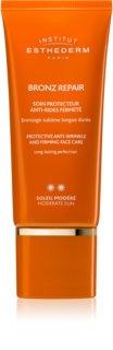 Institut Esthederm Bronz Repair učvršćujuća krema protiv bora na licu sa srednjom UV zaštitom