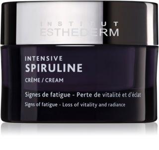 Institut Esthederm Intensive Spiruline creme revitalizante altamente concentrado para pele cansada