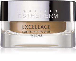 Institut Esthederm Excellage odżywczy krem przywracający gęstość skóry w okolicach oczu