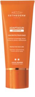 Institut Esthederm Adaptasun Sensitive krem ochronny do twarzy ze średnią ochroną UV