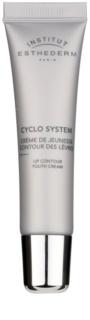 Institut Esthederm Cyclo System crema rejuvenecedora para contorno de labios