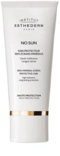 Institut Esthederm No Sun 100% ásványi védőkrém arcra és testre magas UV védelemmel