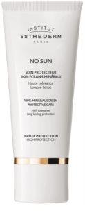 Institut Esthederm No Sun 100% krem mineralny do twarzy i ciała z wysoką ochroną UV