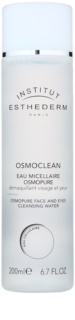 Institut Esthederm Osmoclean Cleansing Micellar Water On The Face And Eyes