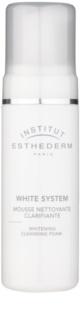 Institut Esthederm White System pianka oczyszczająca o działaniu wybielającym