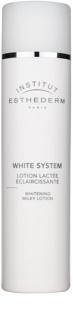 Institut Esthederm White System čisticí mléko s bělicím účinkem