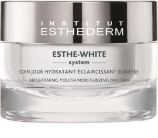 Institut Esthederm Esthe-White System omlazující denní péče pro rozjasnění a hydrataci pleti