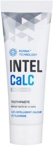 INTELCaLC Whitening bělicí zubní pasta bez obsahu fluoridu