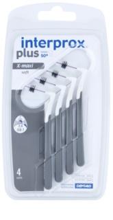 Interprox Plus 90° X-Max cepillos interdentales cónicos suaves 4 uds