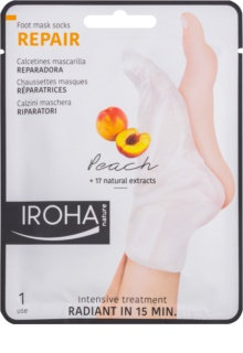 Iroha Repair Peach maseczka  do nóg