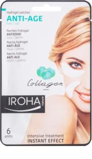 Iroha Anti - Age Collagen αντιρυτιδική μάσκα για περιοχή των ματιών και χειλιών