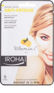 Iroha Anti - Fatigue Vitamin C masque hydrogel contour des yeux
