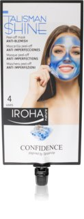 Iroha Talisman Shine Confidence masque peel-off anti-imperfections de la peau