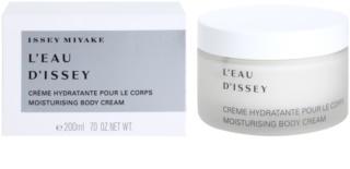 Issey Miyake L'Eau D'Issey crème corps pour femme 200 ml