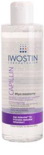 Iwostin Capillin очищаюча міцелярна вода для чутливої шкіри схильної до почервонінь