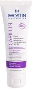Iwostin Capillin Intense Cream against Skin Redness SPF 20