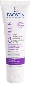 Iwostin Capillin інтенсивний крем для зменшення почервонінь шкіри SPF 20