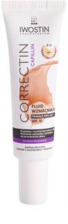 Iwostin Capillin Correctin dolgotrajno prekrivni krepilni fluid za kožo nagnjeno k rdečici SPF 30