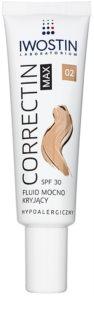 Iwostin Max Correctin Long-lasting Matting Fluid for Sensitive Skin SPF 30