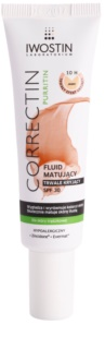 Iwostin Purritin Correctin Long-Lasting Matte Cover Fluid for Acne-Prone Skin SPF30