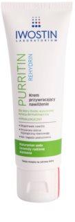 Iwostin Purritin Rehydrin creme hidratante para pele desidratada e irritada por tratamento antiacneico