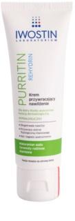 Iwostin Purritin Rehydrin зволожуючий крем для шкіри висушеної та подразненої лікуванням акне