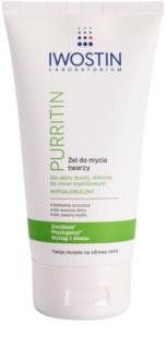 Iwostin Purritin гель для миття для жирної шкіри зі схильністю до акне