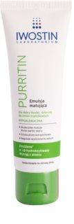 Iwostin Purritin emulsão matificante para pele oleosa propensa a acne
