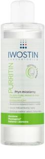 Iwostin Purritin micelárna čistiaca voda pre mastnú pleť so sklonom k akné