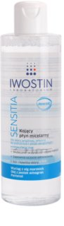 Iwostin Sensitia заспокоююча очищаюча міцелярна вода для чутливої шкіри та шкіри, схільної до алергії