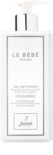 Jacadi Le Bébé tisztító gél arcra és testre a gyermek bőrre