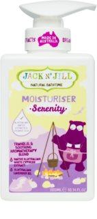 Jack N' Jill Serenity vyživující tělové mléko pro děti