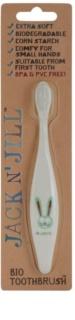 Jack N' Jill Bunny Organic Tootbrush for Kids Extra Soft