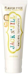 Jack N' Jill Natural натурална паста за зъби за деца без вкус