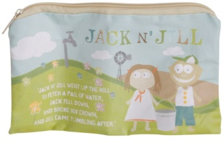 Jack N' Jill Sleepover neceser de algodón natural