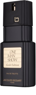 Jacques Bogart One Man Show Gold Edition Eau de Toilette for Men 100 ml