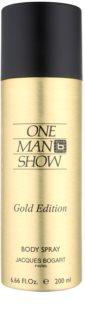 Jacques Bogart One Man Show Gold Edition tělový sprej pro muže 200 ml