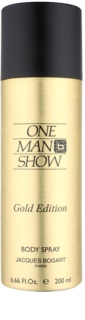 Jacques Bogart One Man Show Gold Edition Bodyspray für Herren 200 ml