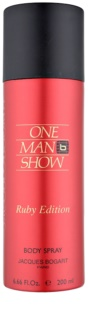 Jacques Bogart One Man Show Ruby Edition spray corporal para hombre 200 ml