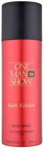 Jacques Bogart One Man Show Ruby Edition Bodyspray  voor Mannen 200 ml
