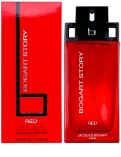 Jacques Bogart Bogart Story Red Eau de Toillete για άνδρες 100 μλ