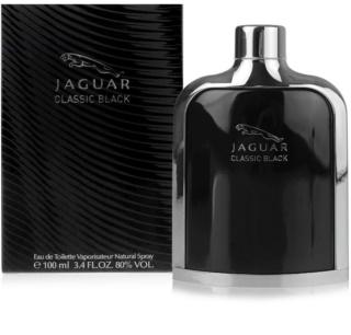 Jaguar Classic Black toaletna voda za moške 100 ml