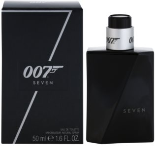 James Bond 007 Seven Eau de Toilette para homens 50 ml